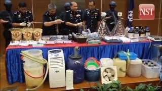 RM10 million worth of drugs seized by Sting