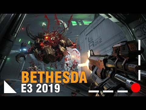 Doom Ethernal Con Wolfenstein E The Evil Within   Bethesda E3 2019