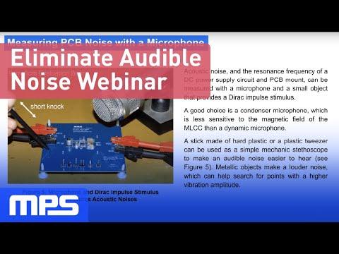 Eliminate Audible Noise Webinar