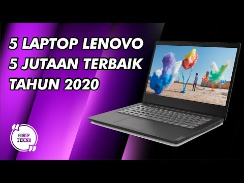 5 Laptop Lenovo 5 Jutaan Terbaik – GOSIP TEKNO INDONESIA