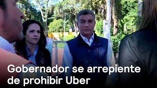 Gobernador se arrepiente de prohibir Uber - Feminicidios - En Punto con Denise Maerker