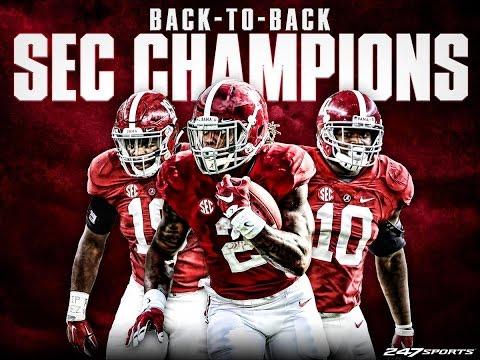 Alabama vs Florida SEC CHAMPIONSHIP 2015