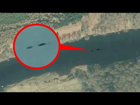 Does This Photo Show An Ancient Sea Serpent Caught On Google Earth?
