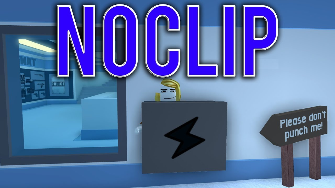 2018 Working How To Noclip Hack On Roblox Roblox Jailbreak