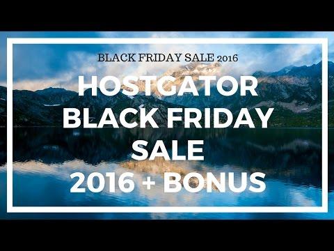 Hostgator black friday sale 2017 - 80% discount