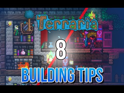 Terraria 8 amazing building tips and ideas youtube for Construction tips