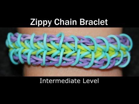 Rainbow Loom® Zippy Chain Bracelet