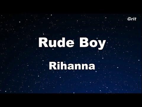 Rude Boy - Rihanna Karaoke 【With Guide Melody】 Instrumental