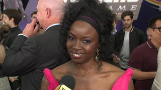 Danai Gurira 'Avengers: Endgame' Premiere: FULL INTERVIEW (Exclusive)