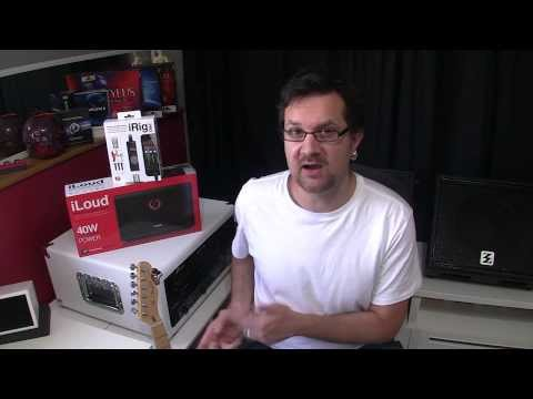 iLoud and iRig Pro Unboxing