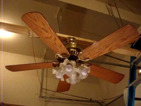 52 fasco american spirit ceiling fan youtube 52 fasco american spirit ceiling fan mozeypictures Image collections