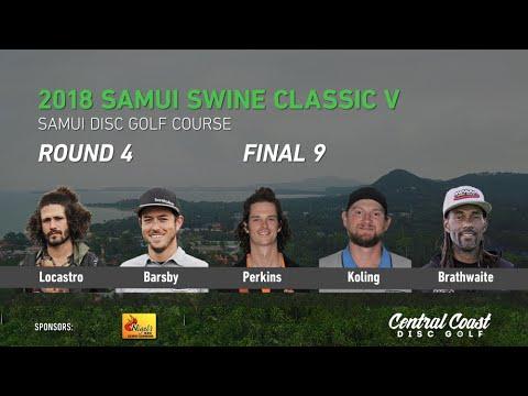 2018 Samui Swine Classic V - Round 4 Final P - Locastro, Barsby, Perkins, Koling Brathwaite