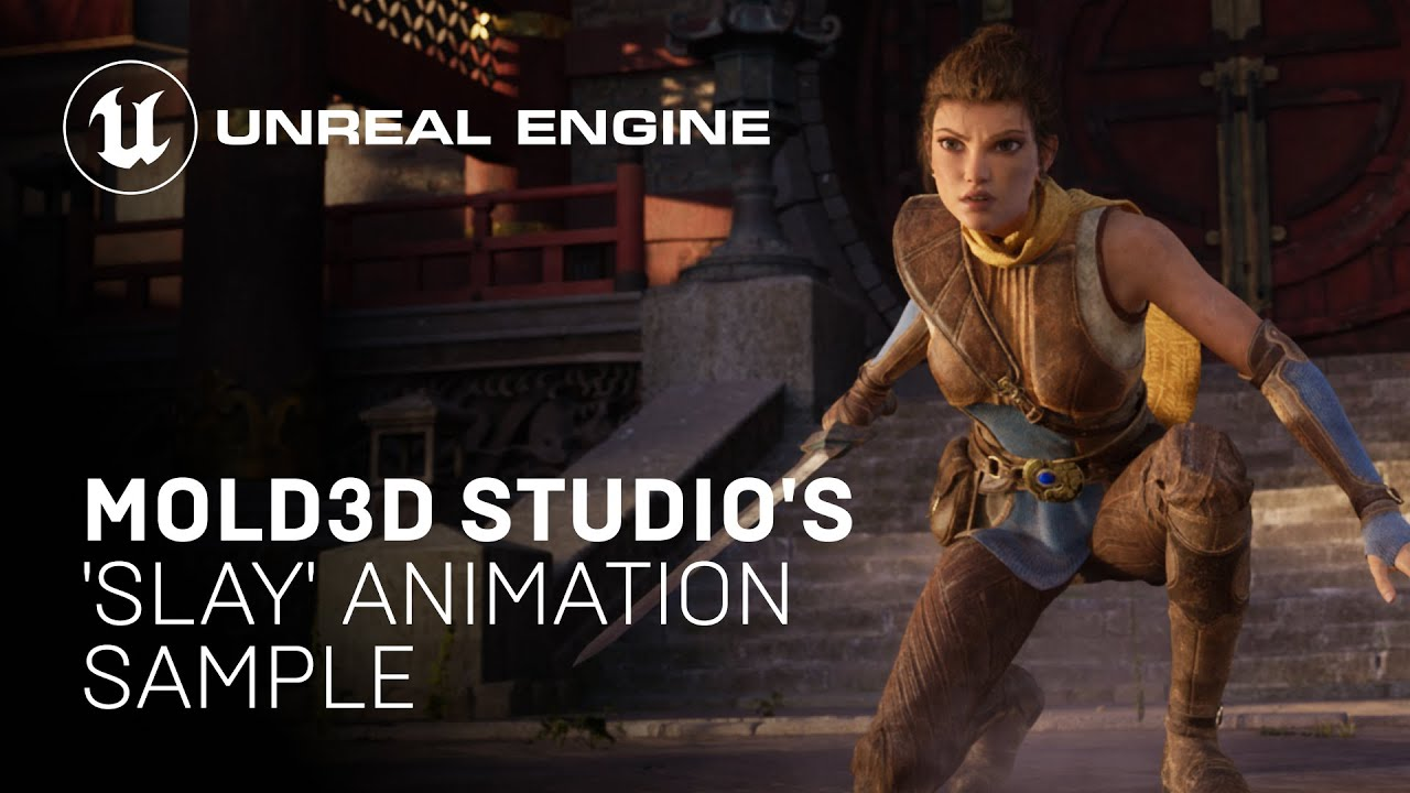 Download Mold3D Studio's 'Slay' Animation Sample Project   Unreal Engine