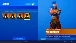 HOW TO UNLOCK ALL THE PRISONER SKIN STAGES IN FORTNITE!