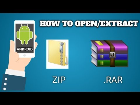 How To Open/extract Zip/rar File In Android Device