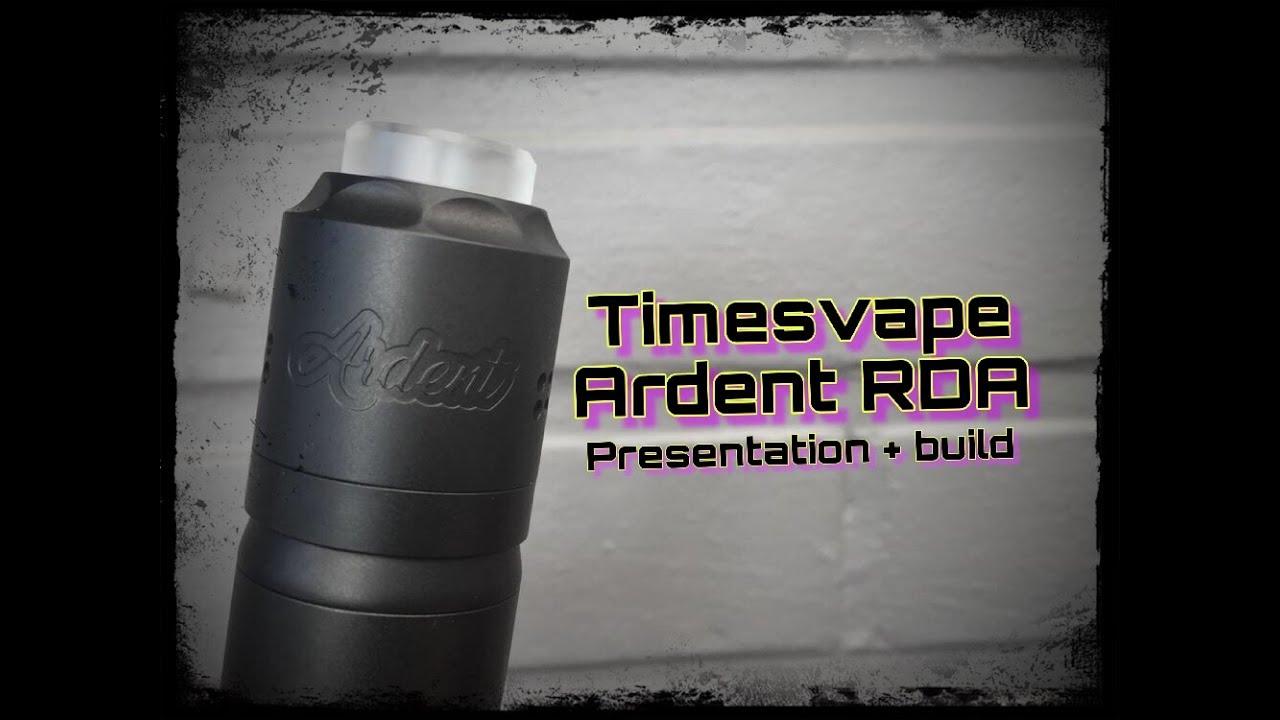 Αποτέλεσμα εικόνας για Ardent RDA By Timesvape GUN METAL