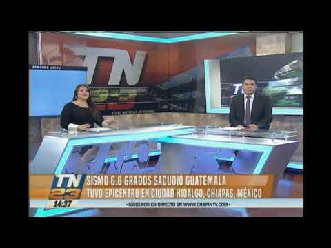 Alerta por fuerte sismo en Guatemala