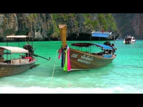 Boat Trip to Maya Bay | Koh Phi Phi Island | Phuket Krabi Thailand