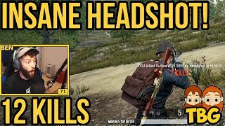 ABSOLUTELY DISGUSTING HEADSHOT // PUBG Xbox One Gameplay