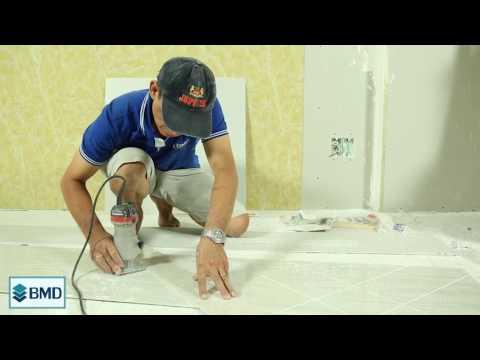 Hướng Dẫn Thi Công Tấm PVC Vân Đá, Nhựa Giả Đá