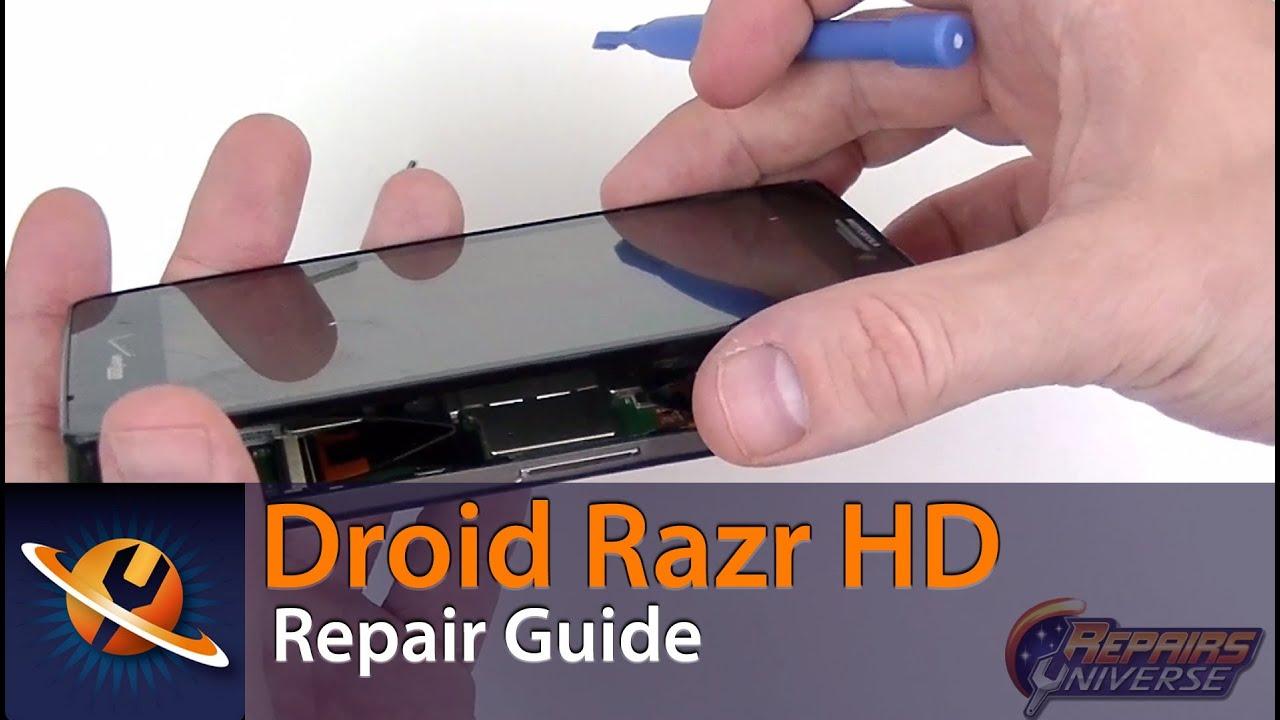 motorola droid razr hd screen replacement repair guide youtube rh youtube com Motorola Droid Ultra Motorola Droid Ultra