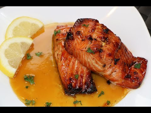 Honey Glazed Salmon Recipe - The Best Salmon Recipe