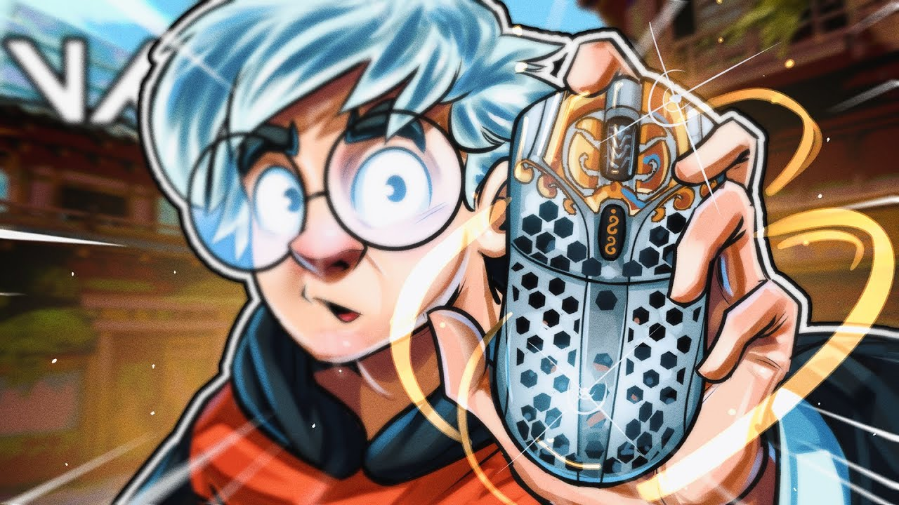 Download SEN TenZ TRIES THE *NEW* STARLIGHT FINALMOUSE !!!
