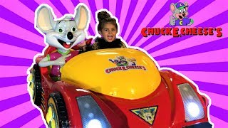 Sally Drive Chuck E. Cheese's ride on cars