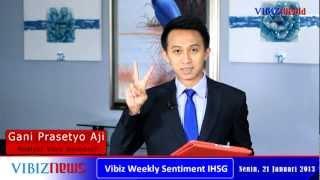 Capai Rekor Tertingginya Di Pekan Lalu,IHSG Rawan Akan Profit Taking, Vibiznews, 21Jan2013