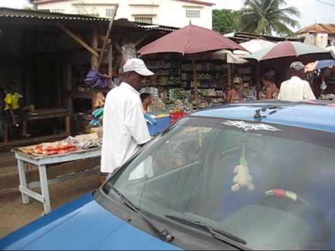 Street market in Diego Suarez, Madagascar