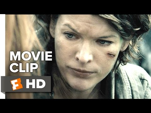 Resident Evil: The Final Chapter Movie CLIP - Rooftop Standoff (2017) - Milla Jovovich Movie