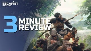 Ancestors: The Humankind Odyssey | Review in 3 Minutes (Video Game Video Review)