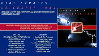 "Dire Straits ""Industrial disease"" 1982 Leicester [AUDIO ONLY]"
