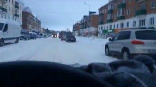 г.Кумертау центральные дороги, Город без дорог. зима 2016.