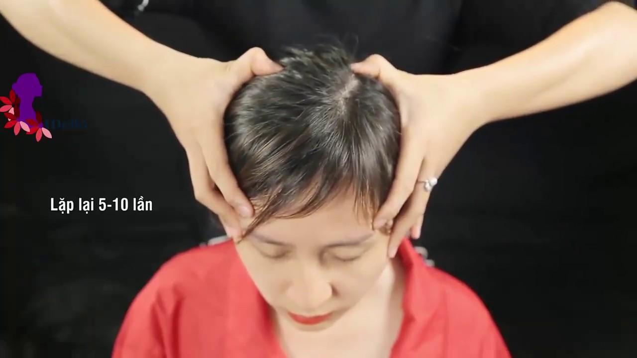 Cách xoa bóp bấm huyệt vùng đầu mặt chữa đau đầu chóng mặt và mất ngủ