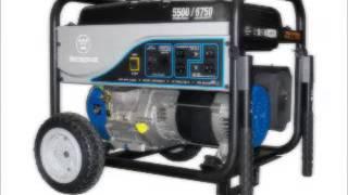 Westinghouse WH5500 Portable Generator, 5500 Running Watts 6750 Starting Watts