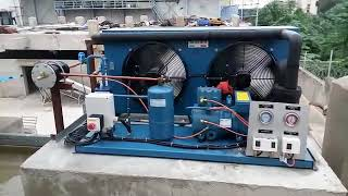 Frascold make air cooled condensing unit