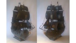 Черная Жемчужина сборная модель (Звезда) / Black Pearl model kit