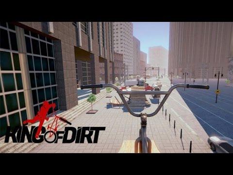 King Of Dirt - Зрелищный BMX симулятор на Android(Review)