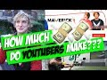 How Much do YouTubers Make Per Month!? 💸 💸