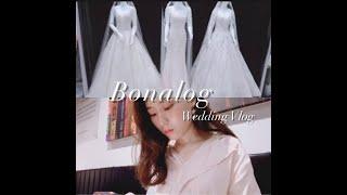 Vlog#2. 웨딩박람회, 발리 신혼여행, 예복 스플렌…