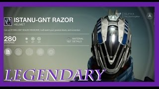 Destiny - Weird Warlock Helmet shouldn't exist anymore. EVA Foam Cosplay