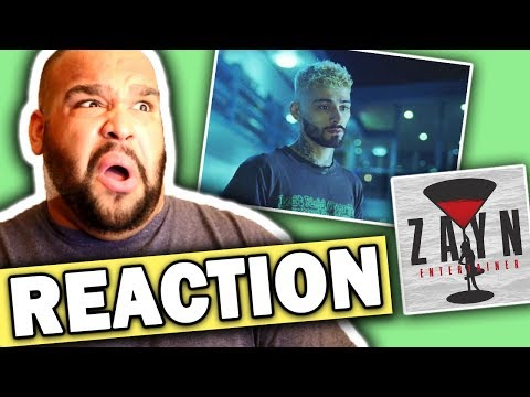 ZAYN - Entertainer (Music Video) REACTION