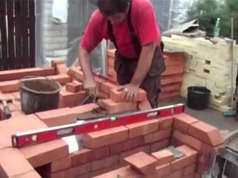 Видео строительство барбекю вставки для электрокаминов в эстонии
