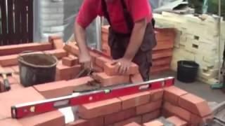 Строительство барбекю из кирпича своими рукам.mp4