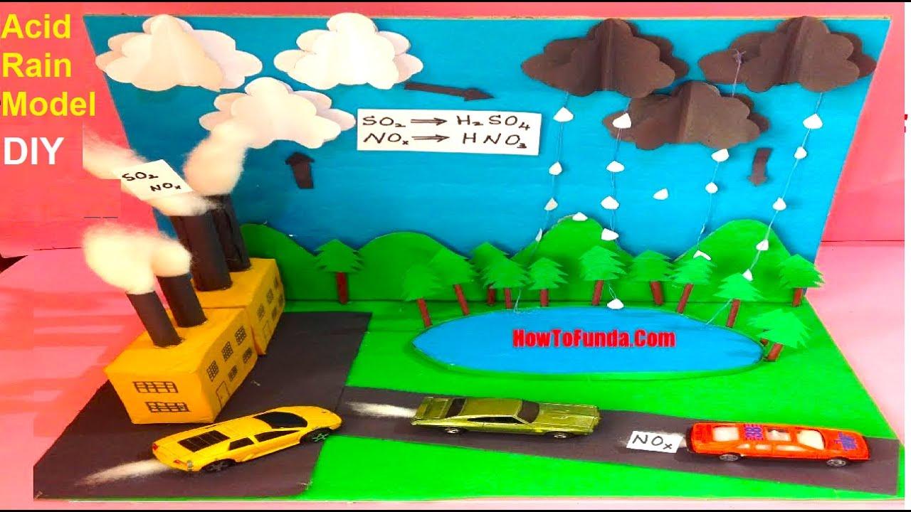 medium resolution of  acidrainmodel schoolproject howtofunda