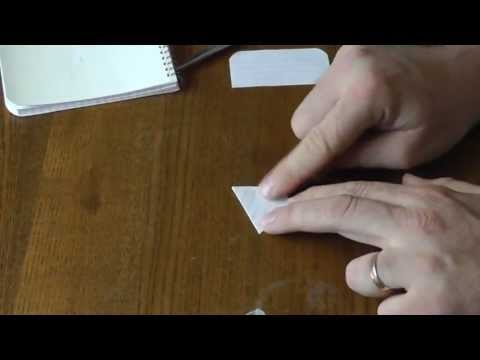 Make Your Own Seed Envelopes For Cheap