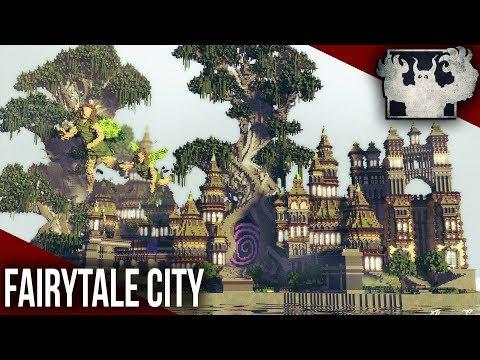 Minecraft Fantasy Map | Fairytale City 🧚