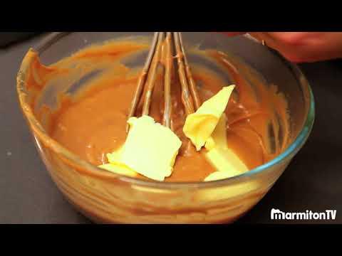 Crème mousseline au praliné pour Paris-Brest