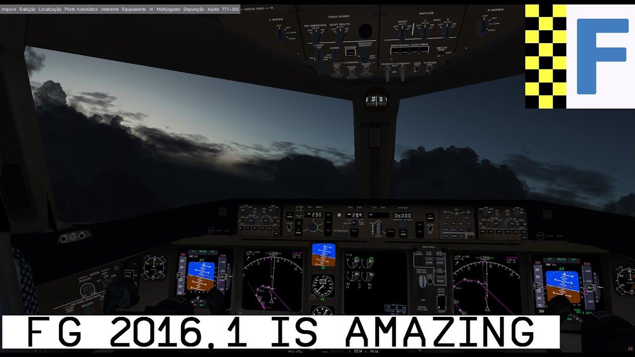 [FlightGear v 2016 1] Review - It's AMAZING !!!